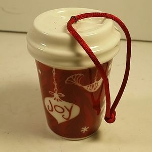 Starbucks Coffee cup ornament